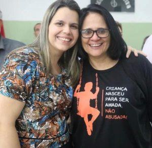 Em Defesa da Família no Brasil e Pernambuco. Dra. Damares Alves e a deputada eleita Clarissa Tércio